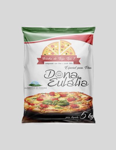 Embalagem Dona Eulália Pizza