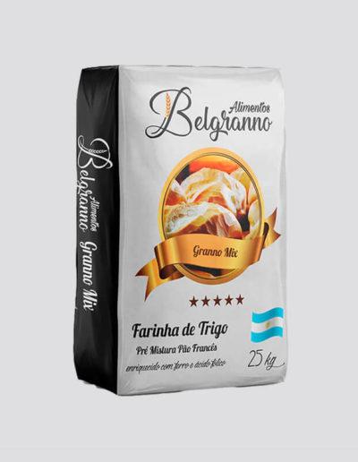 Embalagem Farinha Belgranno