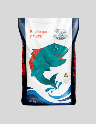 Embalagem Ração de Peixe