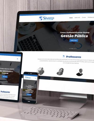 Criação do site SINATEP