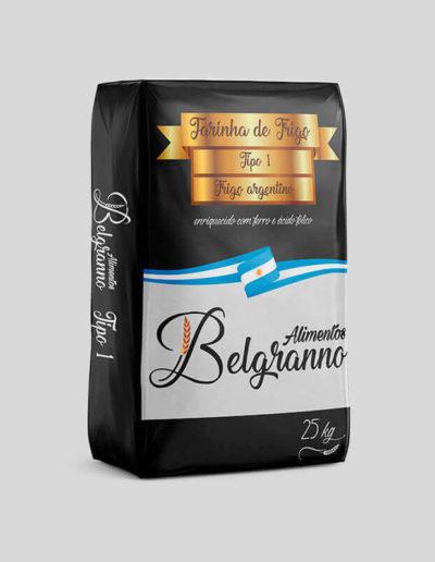 Embalagem Trigo Argentino Belgranno